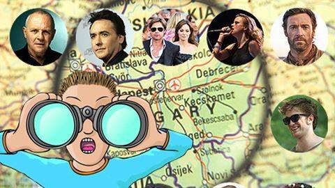 Tíz hely az országban, ahol hollywoodi sztárokba ütközhetsz