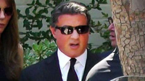 Eltemette fiát Sylvester Stallone