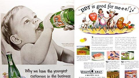 A cigizés nem káros, a cukor meg fogyaszt – bizarr reklámok az ötvenes évekből