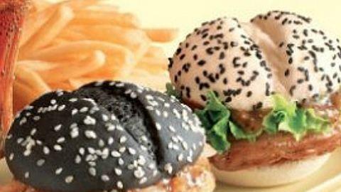 Bevállalnád? Itt a fekete-fehér burger