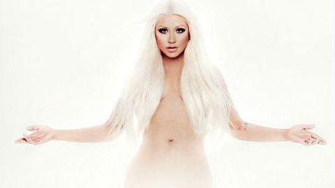 Pucéran pózol a duci Christina Aguilera – fotó