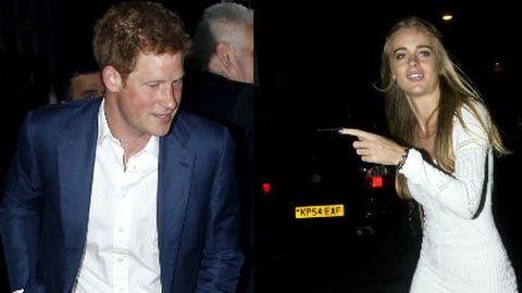 Harry herceg egy aktmodell lányával kavar