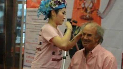 Botox helyett: lepofozzák a ráncokat – videó