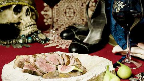 Vágykeltő recept: Fügés-májas-garam masalás rozé kacsa