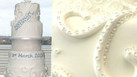 11 milliárdot ért a világ legdrágább esküvői tortája
