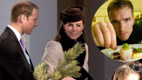 A magyar séf, aki a kismama Katalin hercegnére főzött