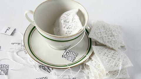Csináld magad: csipke teafilter