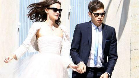 Íme az első fotók Keira Knightley esküvőjéről