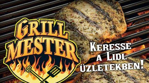 A Lidl grillmester tanácsait követve csak jó sülhet ki a nyári grillpartiból