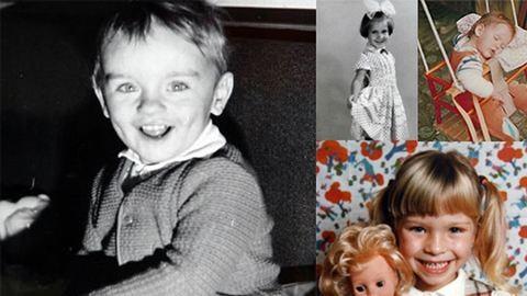 """""""Amikor én még kissrác voltam…"""" – sztárok gyerekkori fotói"""
