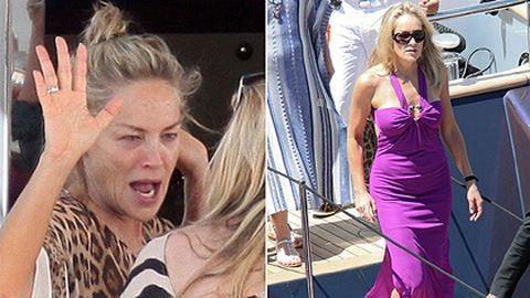 Sharon Stone végigpartizta Cannes-t – fotó