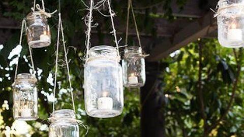 Csináld magad: világítás a kerti partira