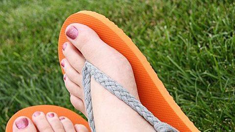 Csináld magad: flipflop papucsból csinos szandál