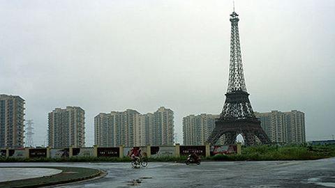 """Már várost is """"hamisítanak"""" Kínában"""