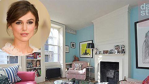 Meglepően otthonos Keira Knightley londoni háza