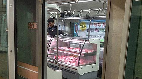 Büfékocsit nyitottak a metróban