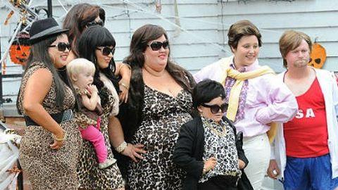 Így még tuti nem láttad a Kardashian famíliát – fotók