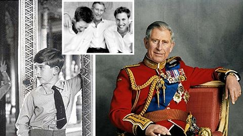 65 fotó a 65 éves Károly hercegről