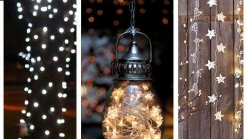 Hogyan tegyük fel a karácsonyi fényeket?