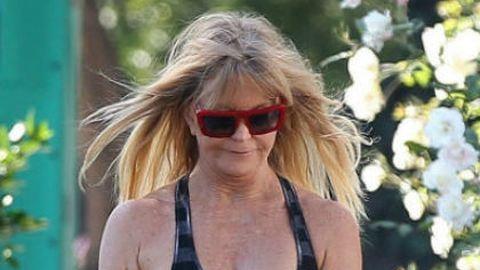 Mellbimbót villantott a 67 éves Goldie Hawn – galéria