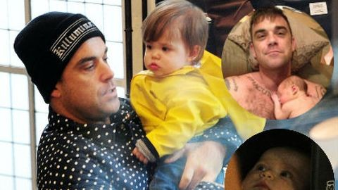 Adele fia és Robbie Williams lánya: játszótársak lettek