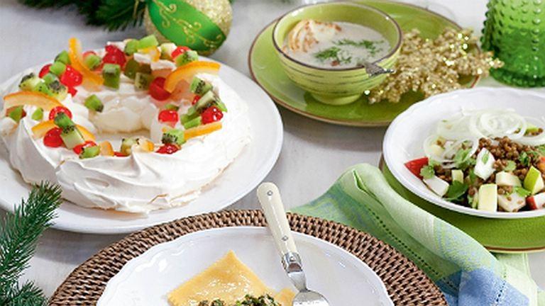 Menüajánlat karácsonyra: vegák vacsorája