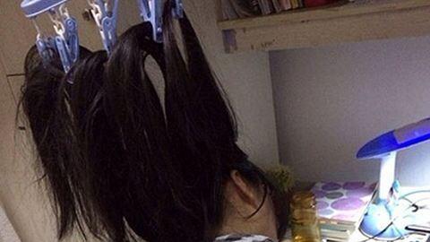 Így tartják ébren magukat a kínai diáklányok vizsgaidőszakban