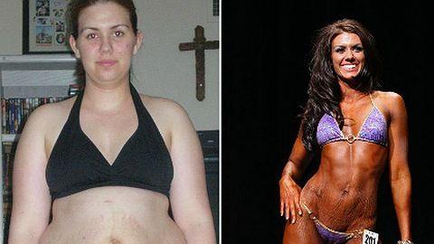 Így lett túlsúlyos anyukából fitneszmodell!