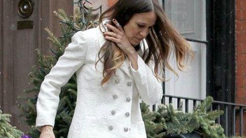 Sarah Jessica Parkernél még mindig karácsony van – fotók