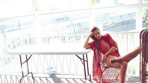 Mihalik Enikő a mexikói Vogue címlapján