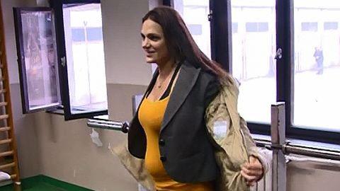 Terhesen is edz Kovács Katalin