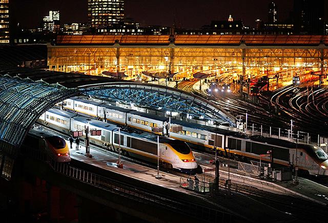 A Csalagúton közlekedő Eurostar londoni állomása
