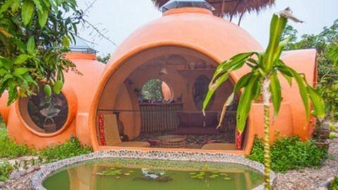 Bámulatos képek: 2 millió forintból építette fel az álomházát