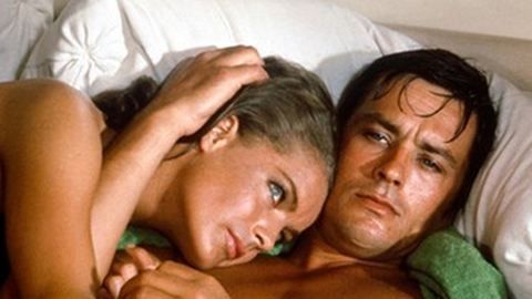 Romy Schneider és Alain Delon viharos szerelme
