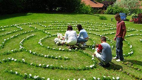 A labirintus segít eljutni önmagunkhoz