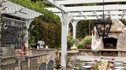 10 álomszép kerti konyha