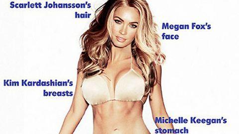Ilyen a tökéletes nő teste – a férfiak szerint