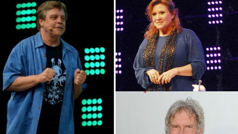 Luke, Leia és Han Solo is visszatér a Csillagok háborúja folytatásában – galéria