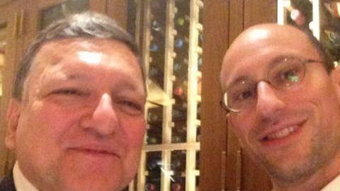 Obama után Barrosóval találkozott Árvai Péter, a Prezi alapítója
