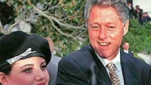 Monica Lewinsky megbánta a Clinton-affért