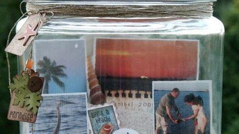 Kis mütyürök helyett: zárd üvegbe az emlékeket