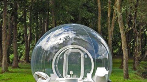 Elképesztő: már buborékházban is lakhatunk