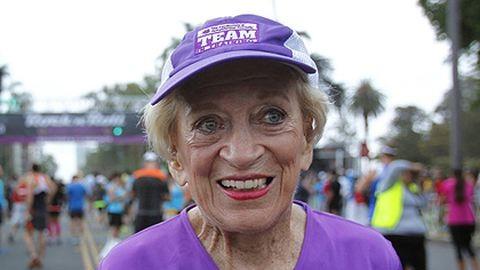 91 évesen futotta le a maratont a nagyi