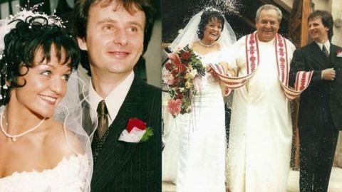 Gyönyörű menyasszony volt Szandi – fotó
