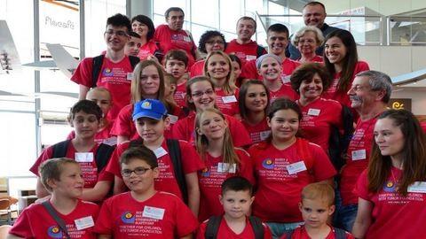 Moszkvában versenyeztek a rákot már legyőző gyerekek