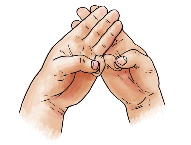 10 mudra: Így tankolj energiát a kezeddel!