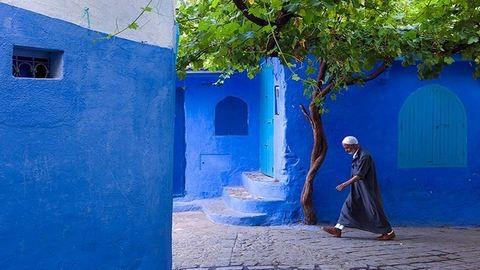 Ennél kékebb nincs – elképesztő fotók Marokkóról