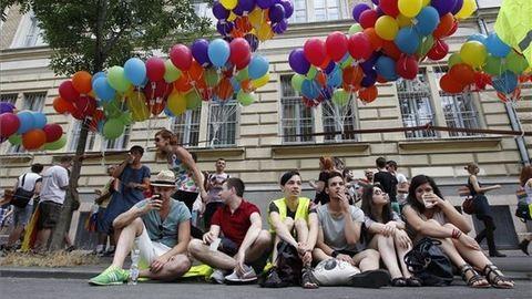 Alföldi Róbert is részt vesz a Budapest Pride-on – képek