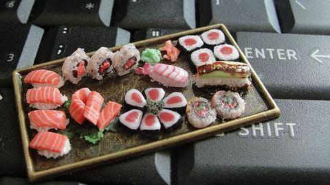 Bámulatos fotók miniatűr ételekről