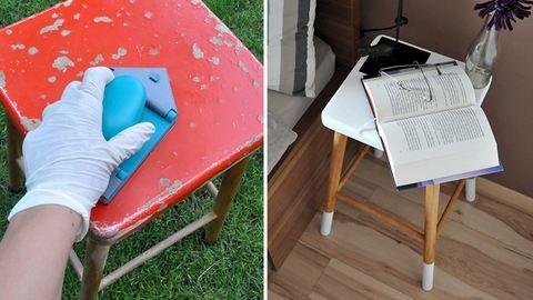 Így lesz menő bútordarab a nagyi hokedlijéből